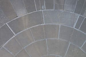 Rubber lining on tank floor